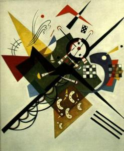 On White II, Kandinsky, 1923
